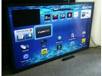 "SAMSUNG 60"" Slim LED FULL HD SMART 3D TV Built in WiFi, Freeview HD, New Condition FULLY WORKING"