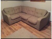 Olive Green Corner Sofa Bed