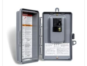 40 amp GFCI breaker and panel box for hot tub