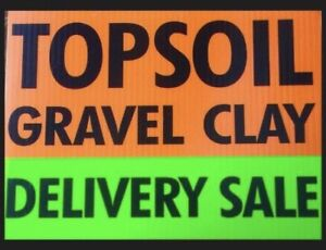 Best quality Screened Topsoil  & Gravel  Sale