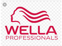 Hairdressing, colours, Wella stock, Hair products