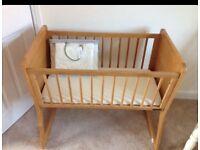 Mamas and Papas Atlantis rocking crib