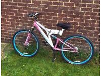 Women's Pink And White Bike