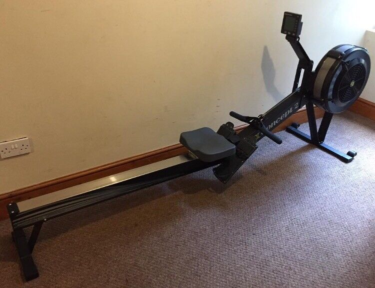 Used Concept 2 Rower >> Concept2 Model D2 Indoor Rower With Pm5 Black Rowing Machine 14hr Used In Leyton London Gumtree