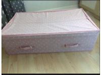 Next under bed Pink storage