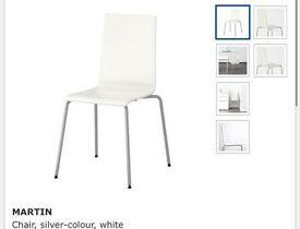 IKEA dining table and 4 chairs for sale