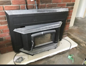 Wood-burning fireplace insert 600 OBO