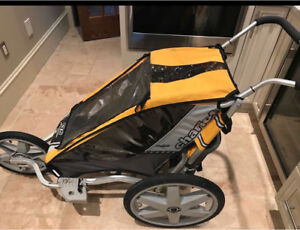 Chariot Single Stroller with Jogging and Bike Attachment