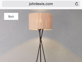 John Lewis Malia Tripod Floor Light RRP £110