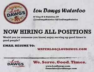 Now Hiring All Positions!!
