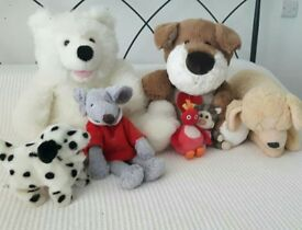 8 item toy bundle (incl. twirlywoo), dancing puppy & a puppet excellent condition