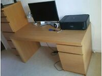 Ikea Malm Desk & Chair