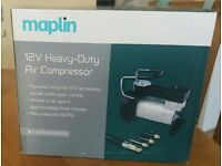 12v HEAVY DUTY AIR COMPRESSOR NEW IN THE BOX