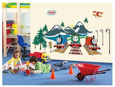 NEW Thomas and friends Removable HUGE Wall Stickers Decal Kids Home Decor USA ()