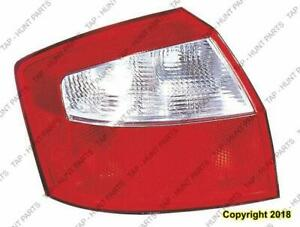 Tail Light Driver Side Sedan Audi A4 2002-2005
