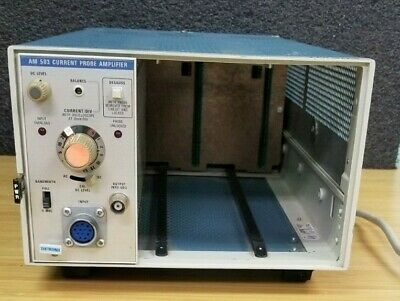 Tektronix Am503 Current Probe Amplifier For Tm503 Chassis K160