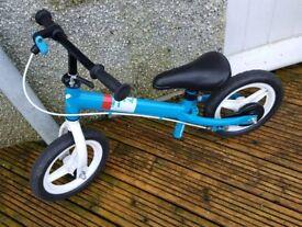 Run Ride Decathalon B'TWIN Blue Balance bike
