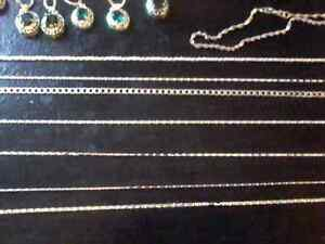 New Stirling Silver Necklaces $20 or 2/$30.00 Belleville Belleville Area image 4