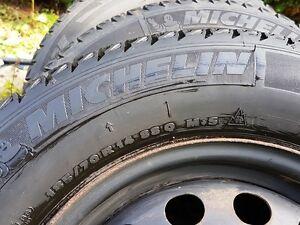 Winter tires Pneu Hiver Michelin X-Ice 185-70-14 with rims