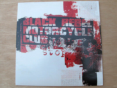 "BLACK REBEL MOTORCYCLE - STOP UK Orig 7"" VINYL"
