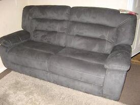 BRAND NEW Harvey's Kinman fabric 3 seater recliner sofa