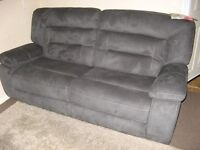 BRAND NEW Harvey's Kinman fabric 3 seater recliner sofa