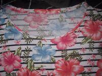 Ladies bundle of size 12 clothes, 5 pieces, jumper, vest, tops