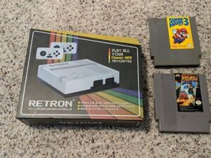 BNIB Hyperkin Retron Console with 2 NES games