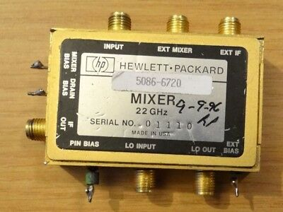Hp Model 5086-6720 Mixer 22 Ghz