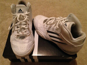 Adidas White Basketball Sneakers