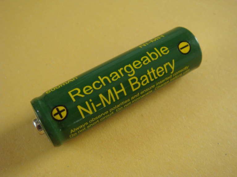 1.2V Aa 600mAh Nimh Wiederaufladbar Batterien Garten Solarlampen