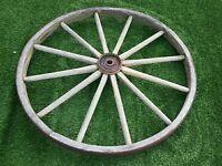 44'' Cartwheel / Wagon wheel. Metal rim and centre