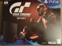 **SEALED** PS4 SLIM 500GB & GRAN TURISMO SPORT GAME BUNDLE BRAND NEW PLAYSTATION 4, 1 YEAR WARRANTY