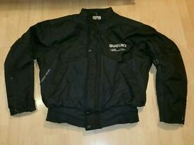 Suzuki motorbike jacket large