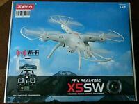 Syma fpv remote control quadcopter drone