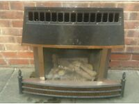 Cannon Gas Fire