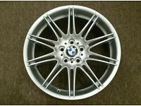 "÷1 GENUINE BMW 19"" 225M MV4 9J REAR ALLOY RIM E90, E91, E92, E93"