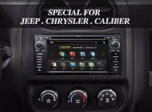 Jeep Dodge Chrysler SATNAV GPS BT DVD USB Installed with Camera Sydney City Inner Sydney Preview