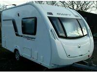 Swift Challenger Sport 382 light weight caravan with paperwork and keys