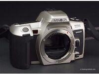Minolta 505si Super - 35mm Camera + 2x Highspeed Auto Zoom lenses