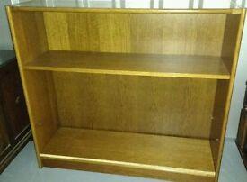 Quality Solid Wood polished Book Shelving Unit