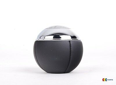 MINI NEW GENUINE R52 R50 R53 COOPER CHROME LEATHER 6 SPEED GEAR SHIFT KNOB