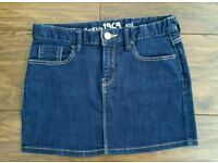 Girls Denim Skirt from GAP. Age 12 years.