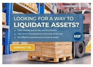 We Buy Business Assets & Inventory - Contact Us Today!