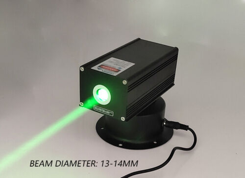 Fat Beam 532nm 200mW 12V High Power Head Moving Green Laser Module Stage Light