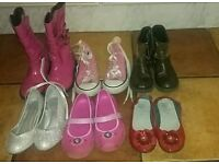 Selection of Girls Boots and Shoes