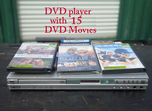 ≫Koss DVD Player with Movies≪