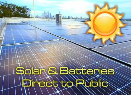 Solar and Batteries Direct to Public Saving you 30-50% Free Quote
