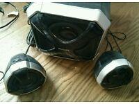 Philips 2.1 100W multimedia speakers