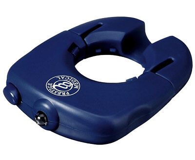 Led Light Quick Equip Stethoscope Chest Piece Scope Medical Instrument Blue New